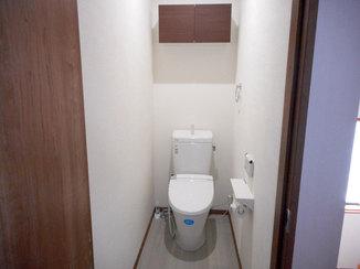 トイレリフォーム 階段の昇り降りがなくなり、使いやすくなったトイレ